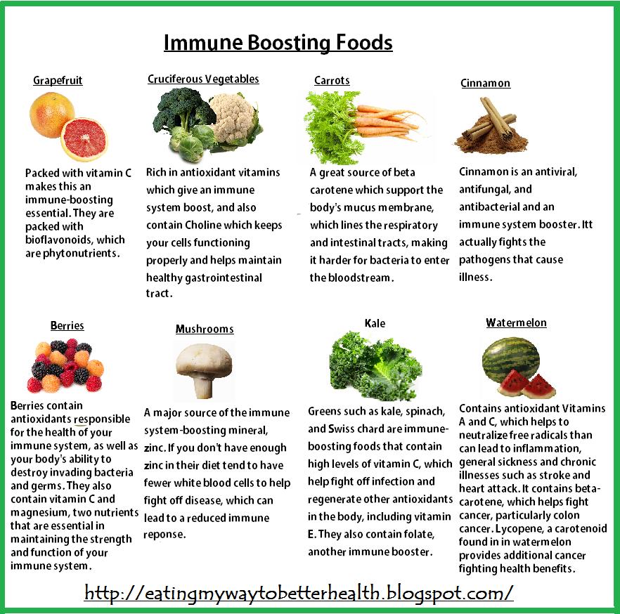 Good Natural Immune Boosters