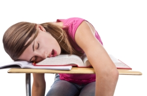 Photo from http://www.futurescientistsfund.org/test/sleeping-student