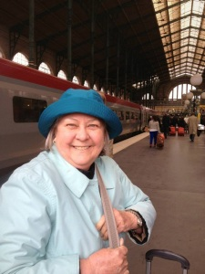 Susan Foster, a breast cancer survivor, traveled to France in the summer of 2013.  Photo by Gracie Kupiszewski.